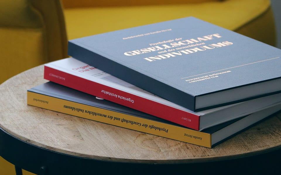 Mastarbeit als Hardcover drucken und binden