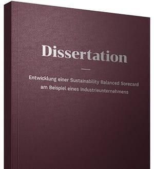 Dissertation arbeit