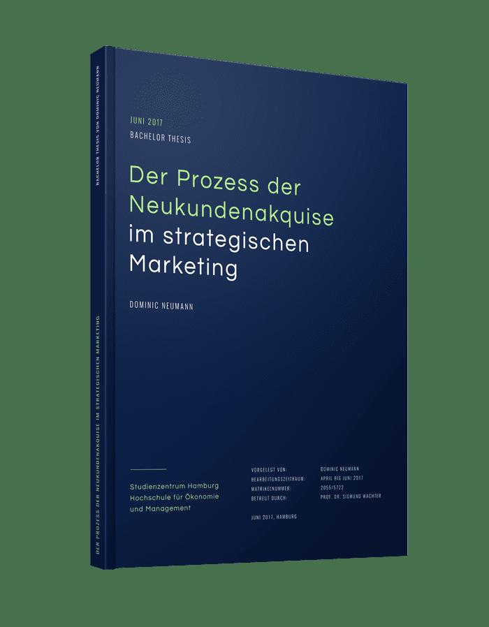 """Bachelorarbeit binden und drucken als Hardcover-Buch mit Design """"Design"""""""