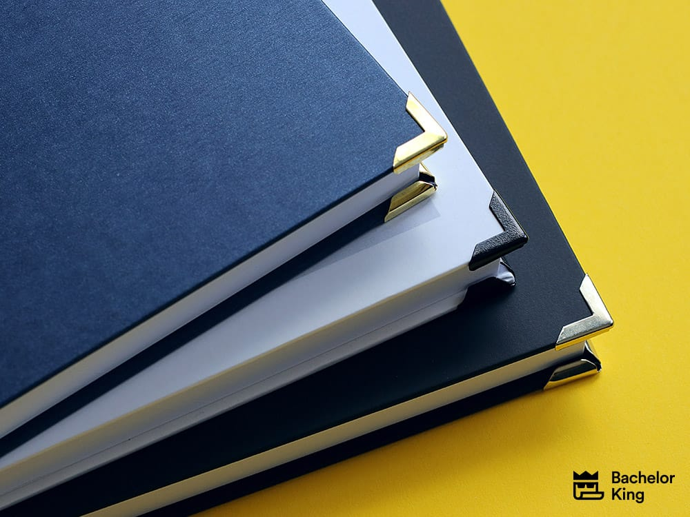 Hardcover Design - Buchecken