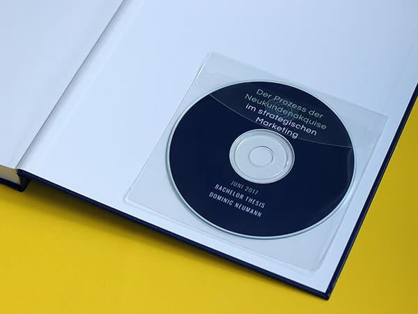 Hardcover Design - CD Hülle