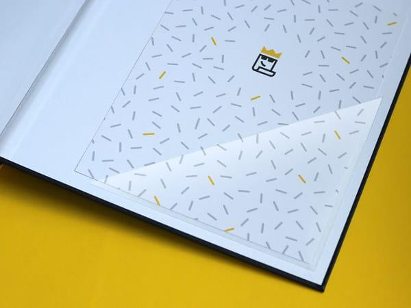 Softcover Design - Dreieckstasche